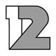 Логотип телеканала Львів ТБ 12 канал (12+ Lviv)