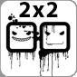 Логотип телеканала 2x2