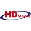 Логотип телеканала HD Media 3D
