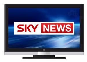 Логотип телеканала Sky News